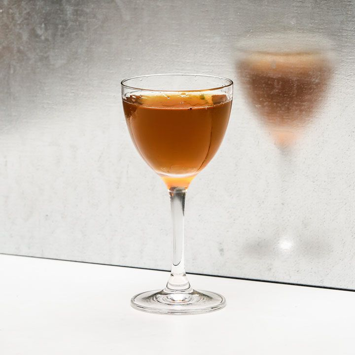 Nail in the Coffin cocktail