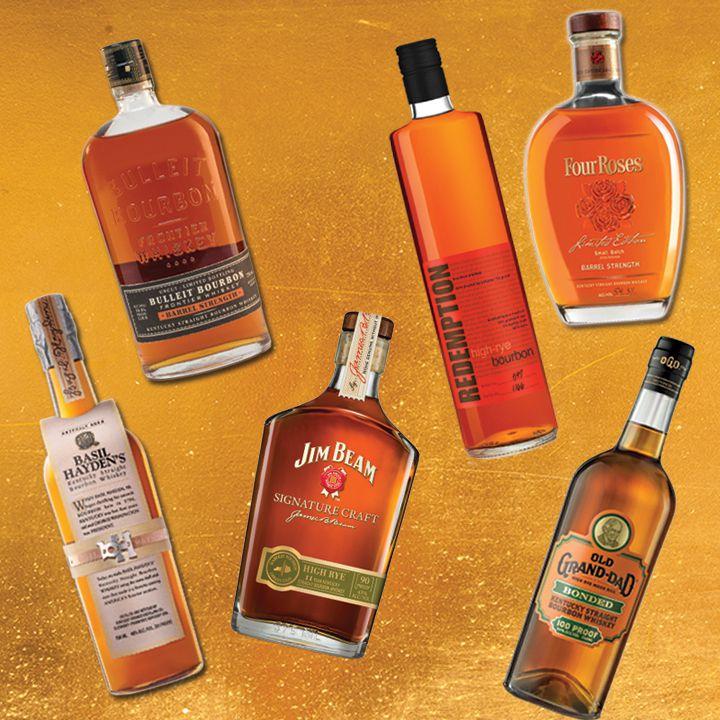 high-rye bourbons