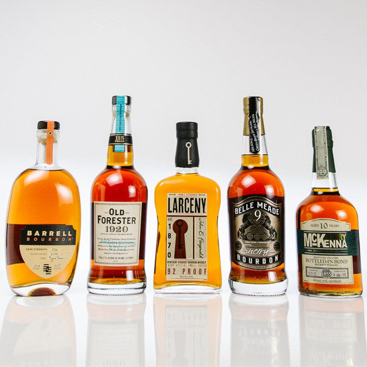 5 essential bourbons