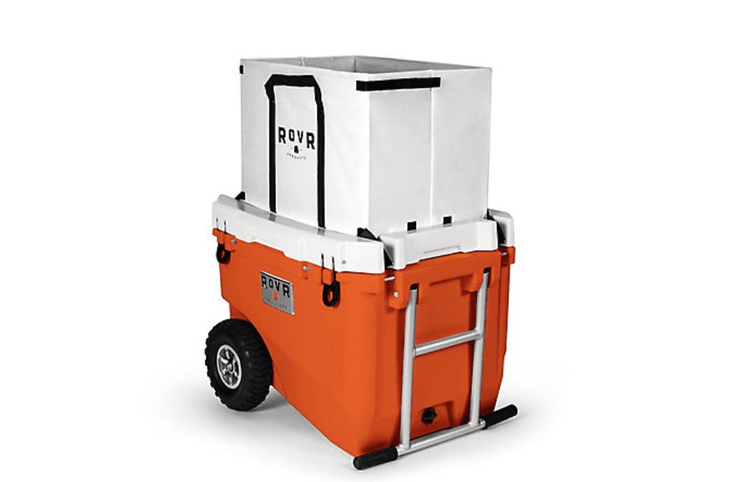 RovR RollR 60 Cooler With Wagon Bin