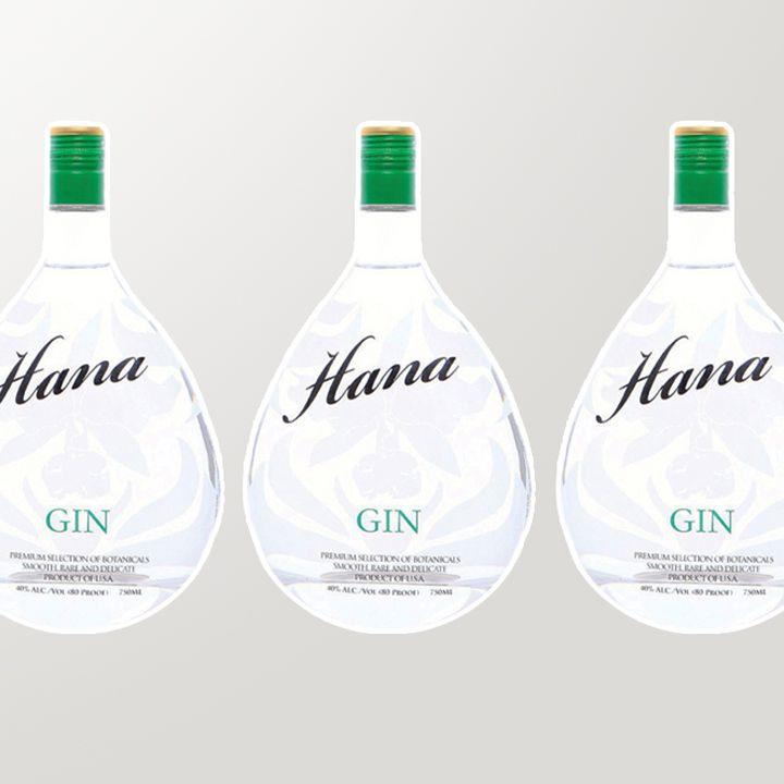 Hana Gin bottles