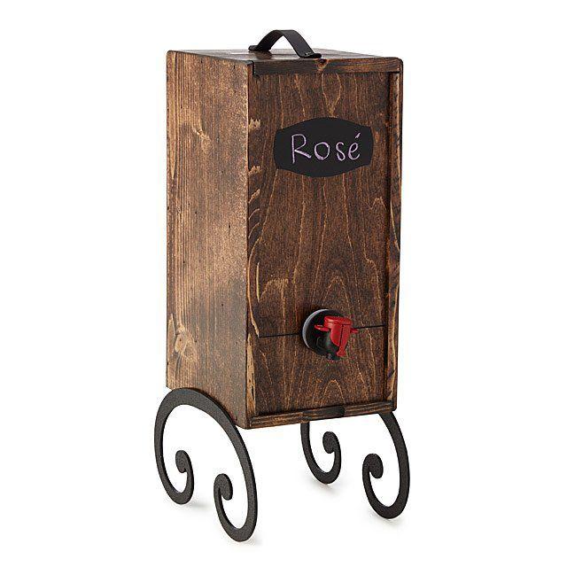Wooden Wine Dispenser