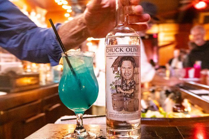 Chuck Oliver vodka at Number 1 Broadway
