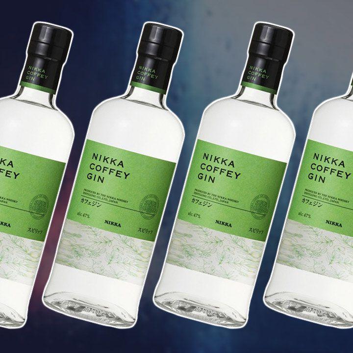 Nikka Coffey Gin bottles