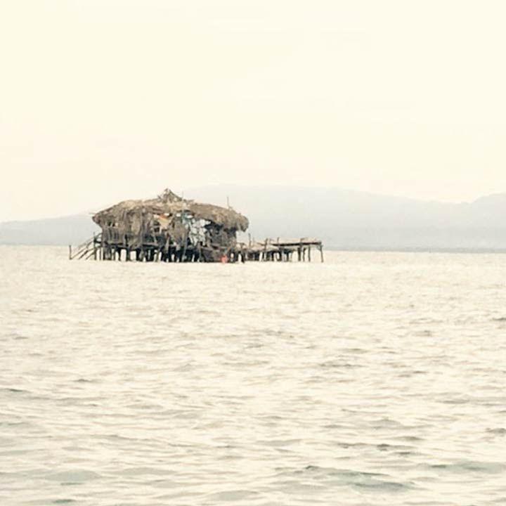 Floyd's Pelican Bar in Parottee Bay, Jamaica
