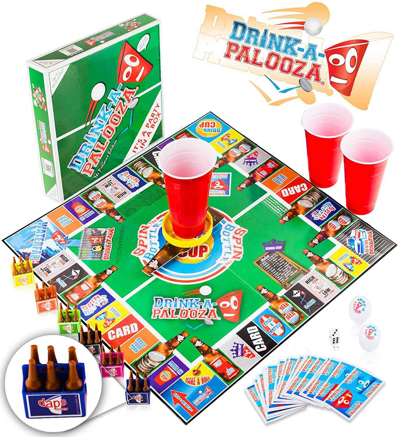 DRINK-A-PALOOZA Party Board Game