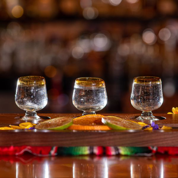 tequila tasting tray