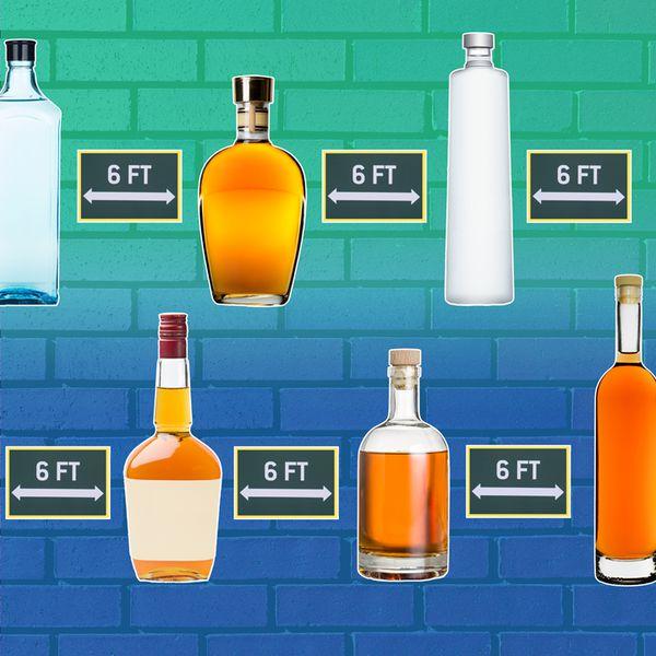 liquor bottles composite