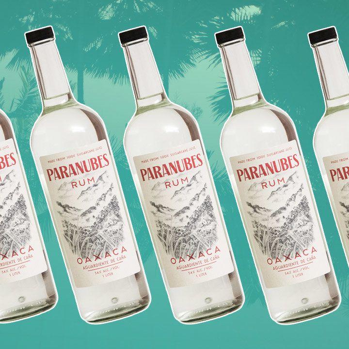 Paranubes Rum bottle