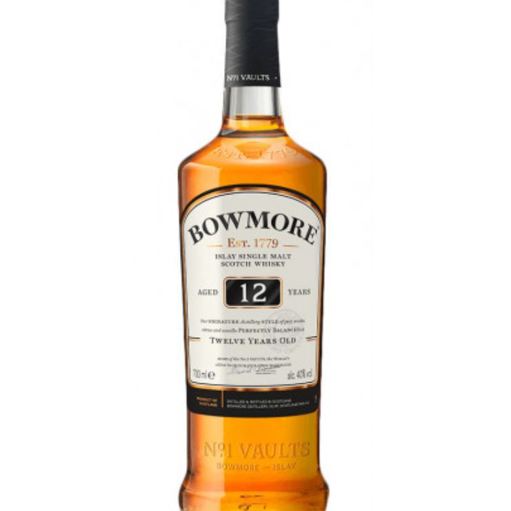 bowmore 12 year old scotch