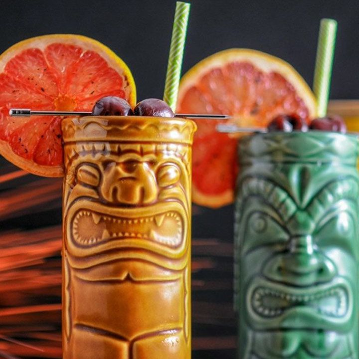5 Tiki Cocktails That Taste Like An Instant Tropical Vacation