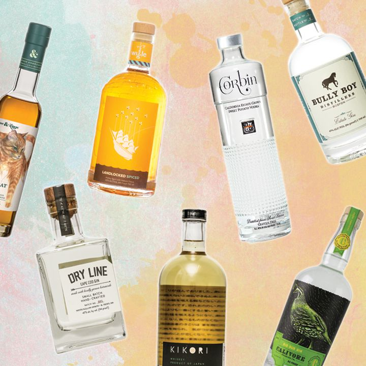 spirits made with unusual ingredients