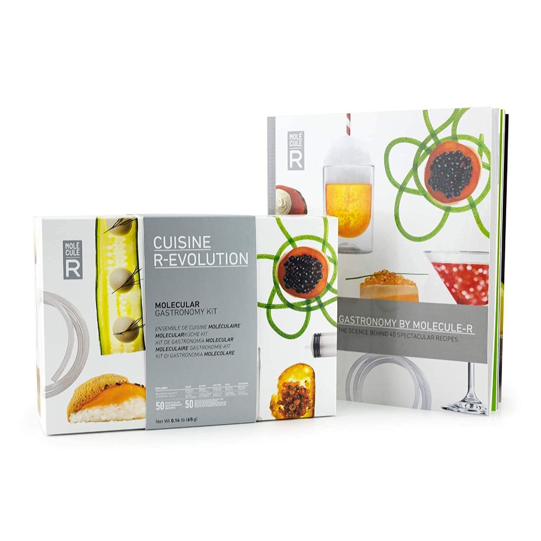 Molecular Mixology Kit + Culinary Syringe