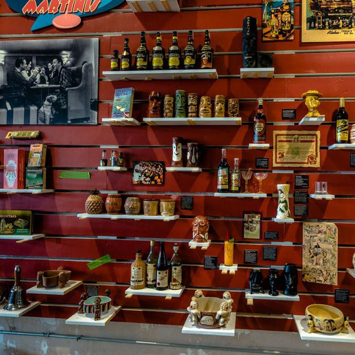 Museum of the American Cocktail interior