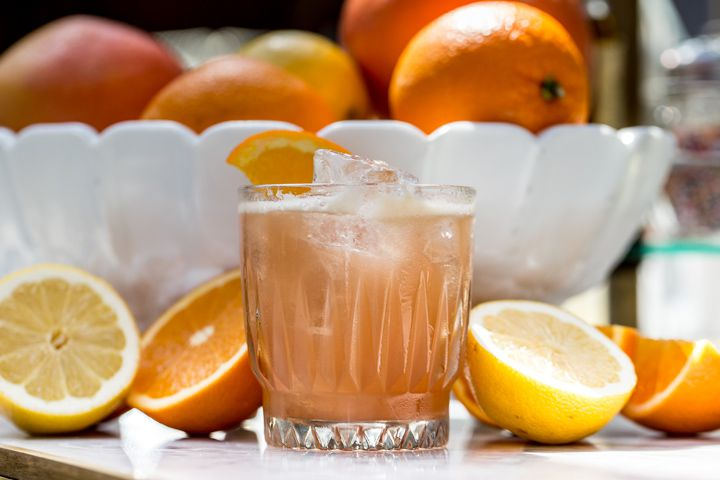 Eastern Prospector made with fresh citrus at Polite Provisions