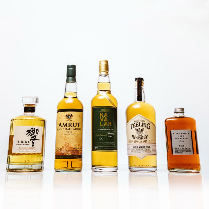 essential whiskeys