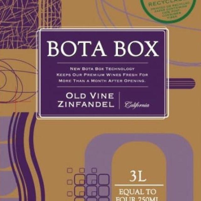 Bota Box Old Vine Zinfandel
