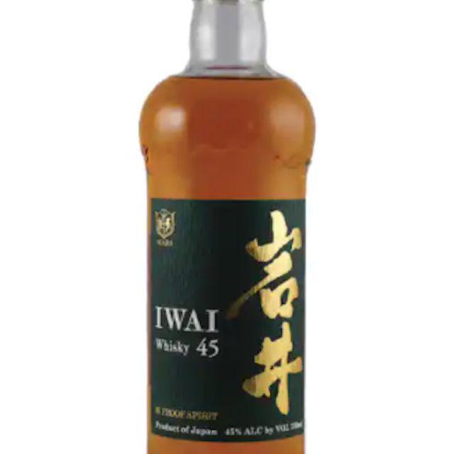Mars Shinshu 'Iwai 45' Whisky