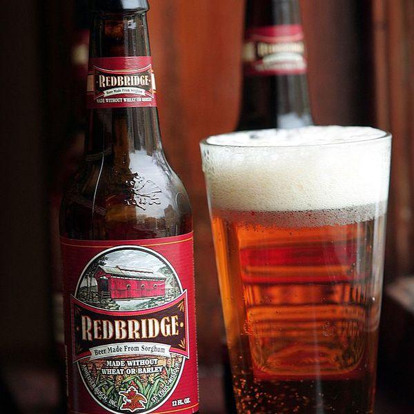 Anheuser-Busch's Redbridge beer