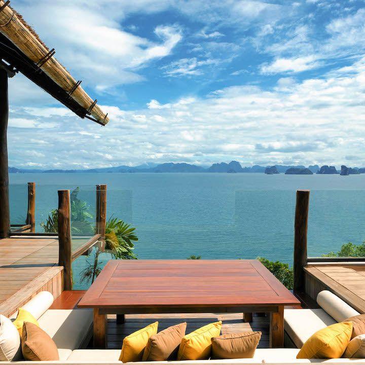 Six Senses Yao Noi hotel in Thailand