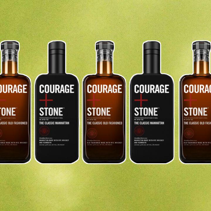 Courage + Stone bottled cocktails