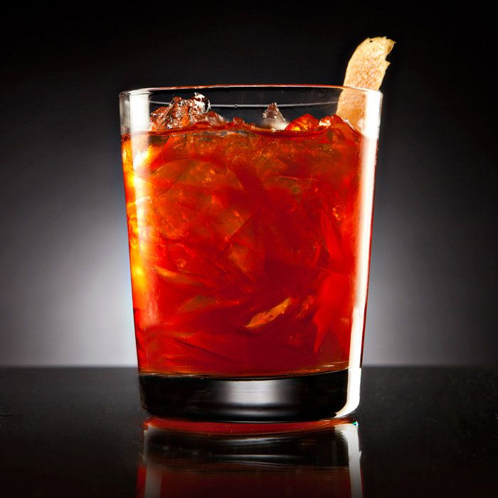 grapefruit negroni cocktail