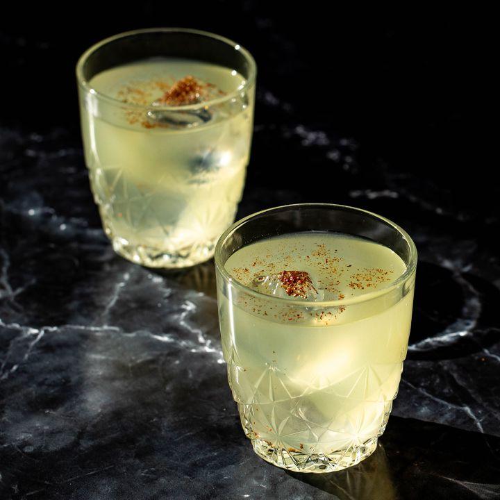 Lemon Bar Clarified Milk Punch