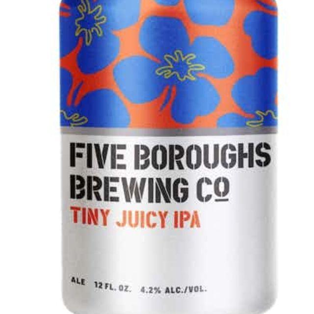 Five Boroughs Brewing Tiny Juicy IPA