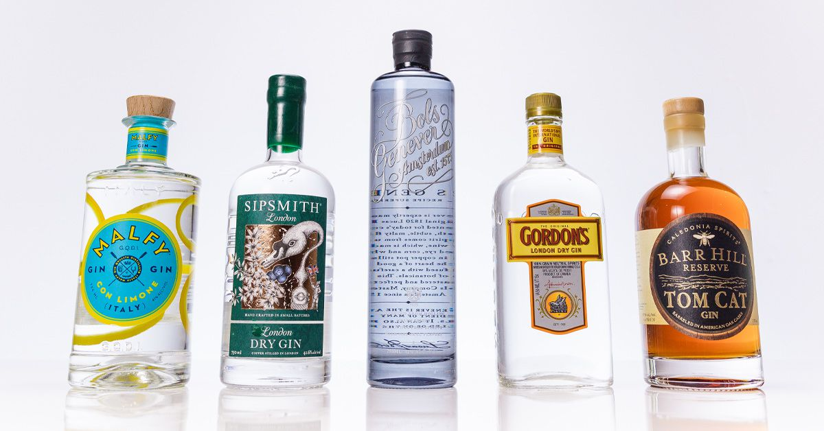 5 Essential Gin Bottles You Need For Your Home Bar