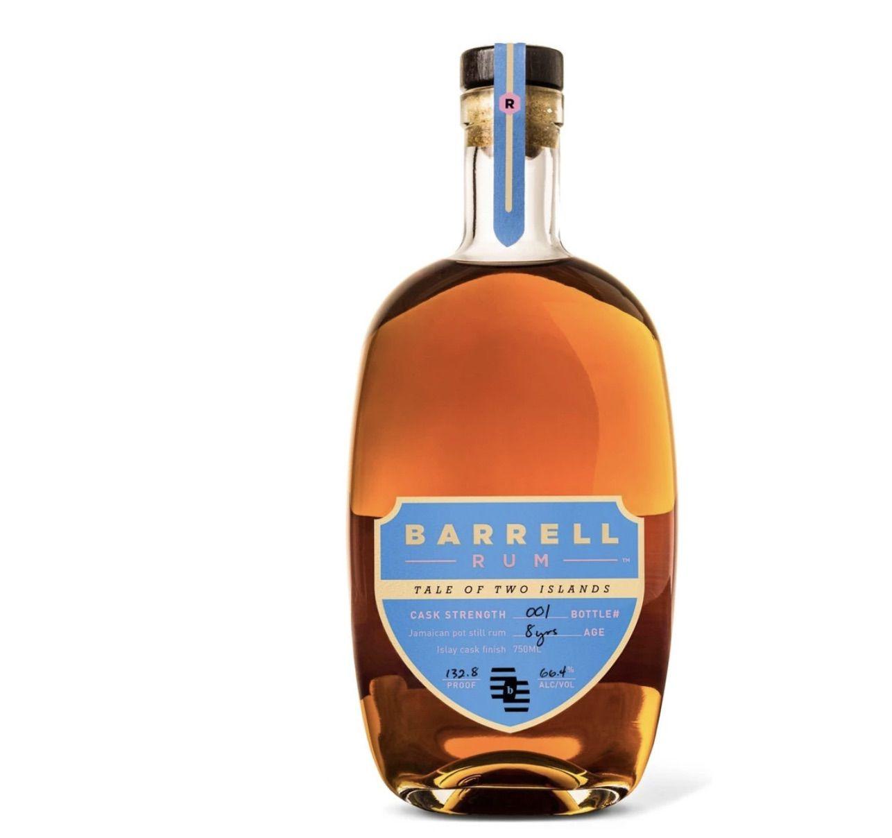 Barrel Rum Tale of Two Islands