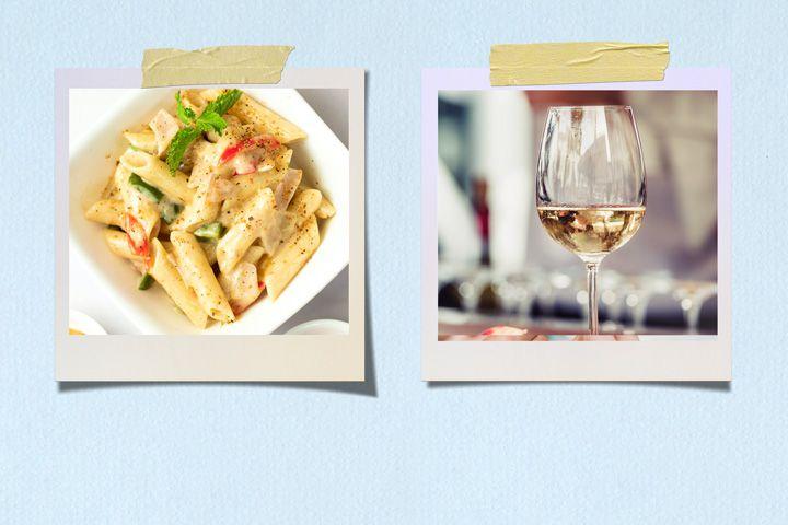 Pasta Primavera and Sancerre