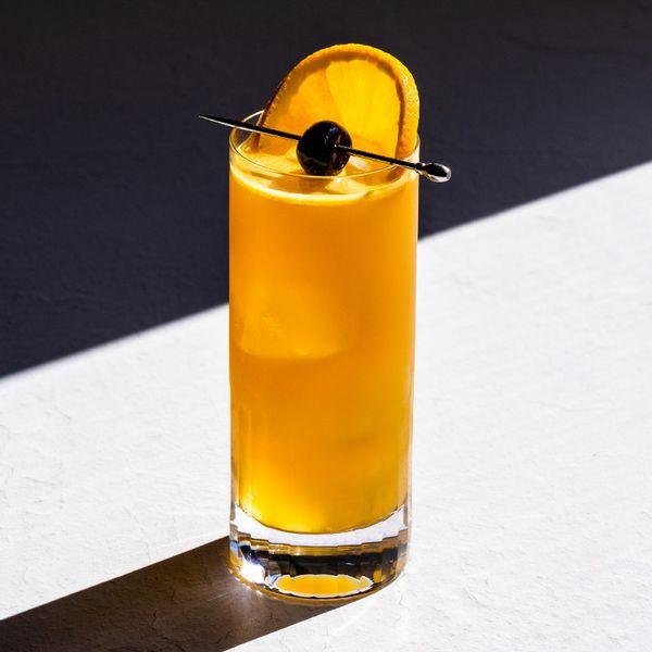 Cherry Revolution cocktail