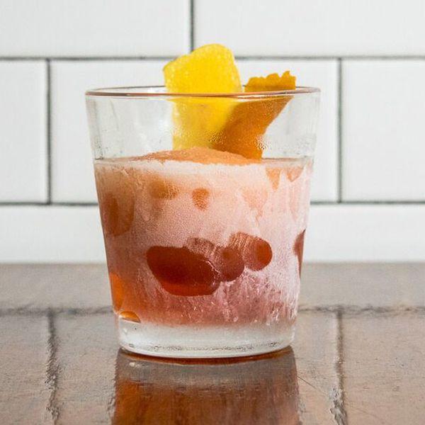 Frozen Negroni cocktail recipe