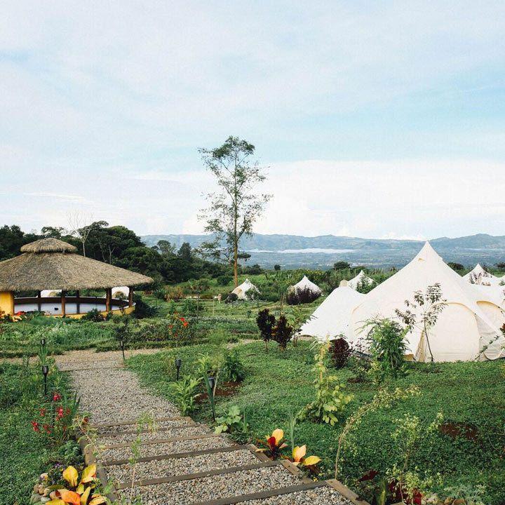 Kinkára eco-resort in Pérez Zeledón, Costa Rica