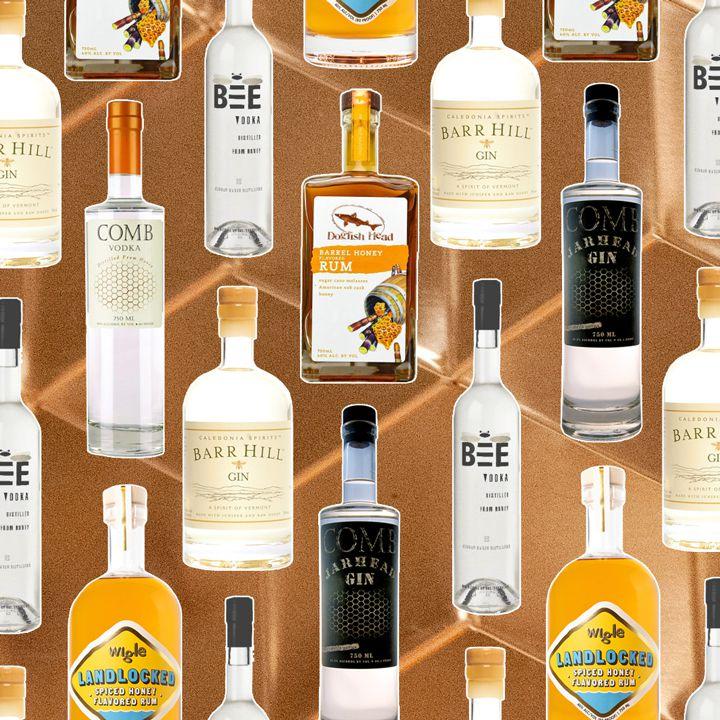 Spirits made with honey