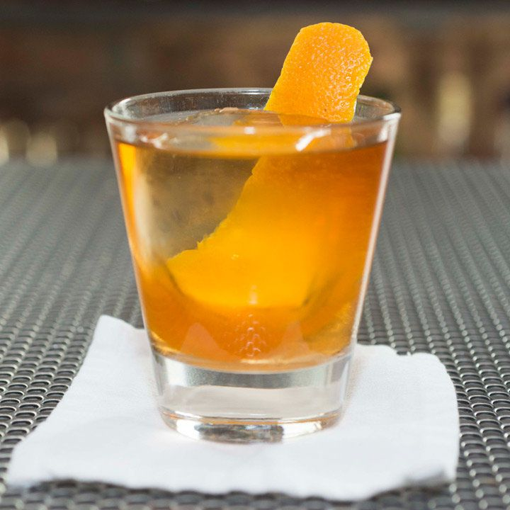 Rocky Manhattan cocktail