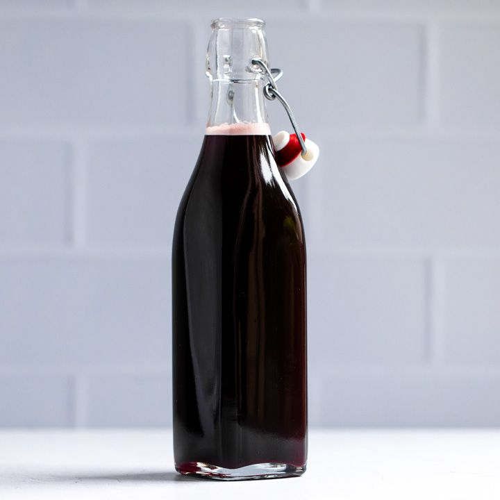 Grenadine bottle