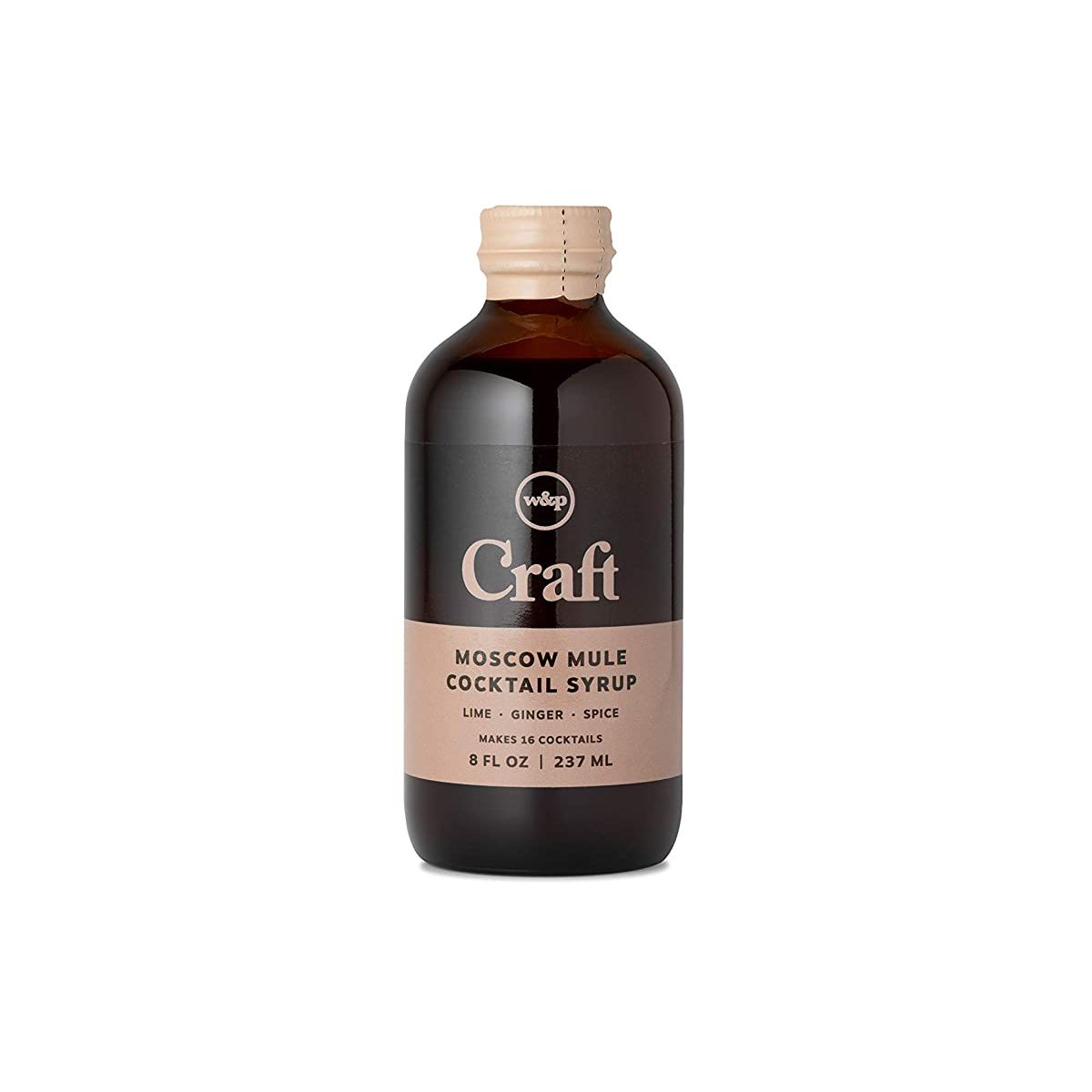 W&P Craft Cocktail Syrup Mixer