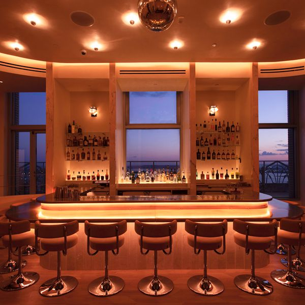 The bar at Overstory in New York City