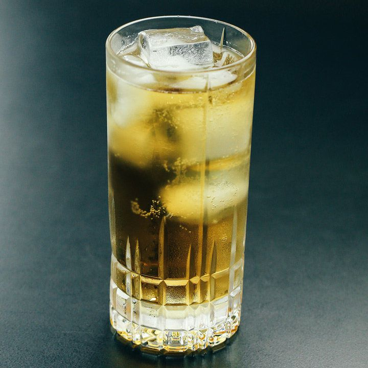 Ginger Ale Highball cocktail