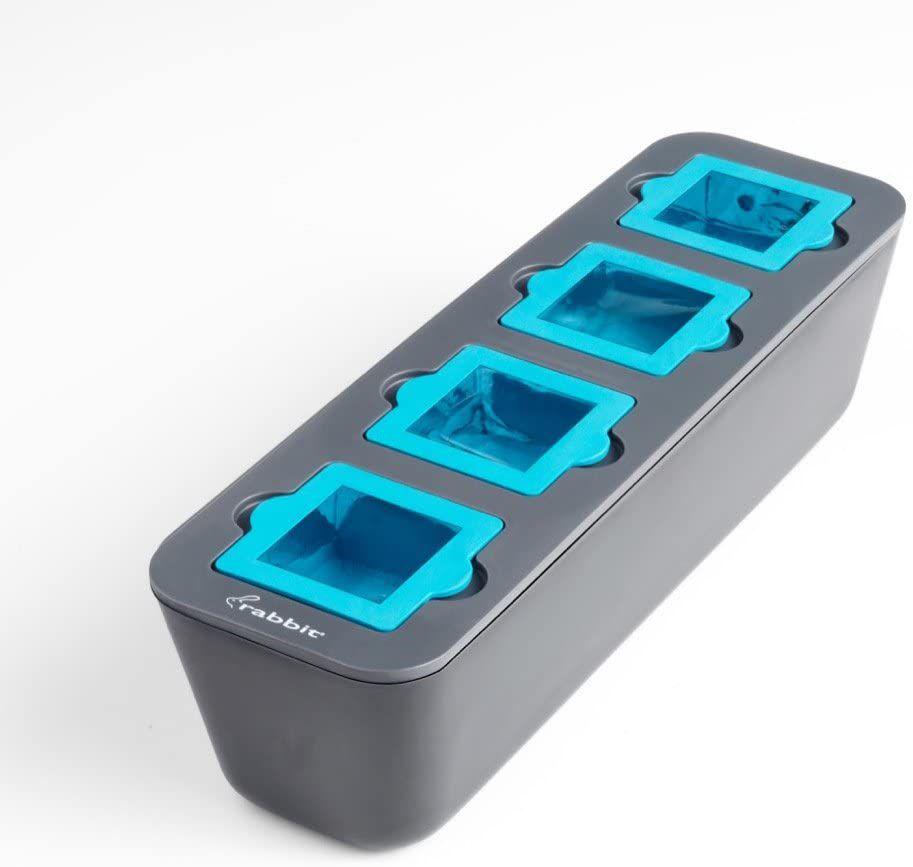 Metrokane Rabbit Clear Ice Cube Tray