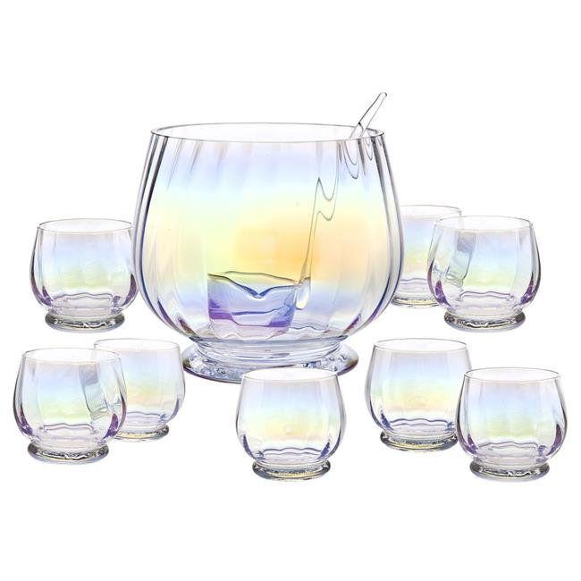Godinger Monterey Crystal 10-Piece Punch Set