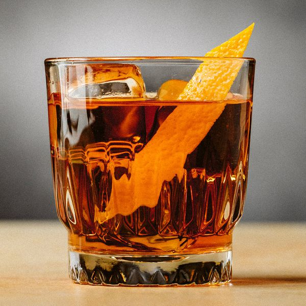 Autumn Rum Old Fashioned