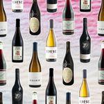 Natural wine bottles