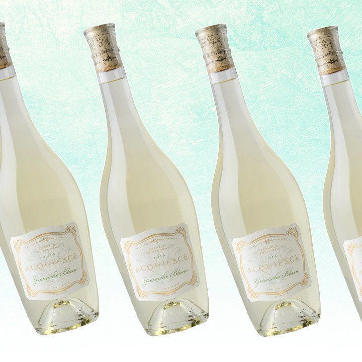 Acquiesce Grenache Blanc bottles