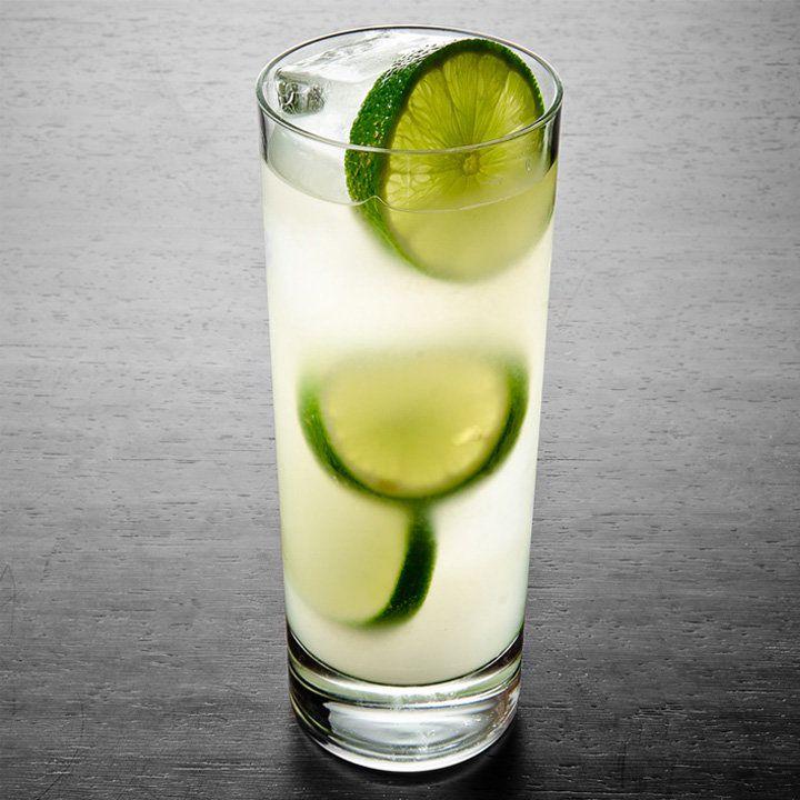 mint-basil limeade drink