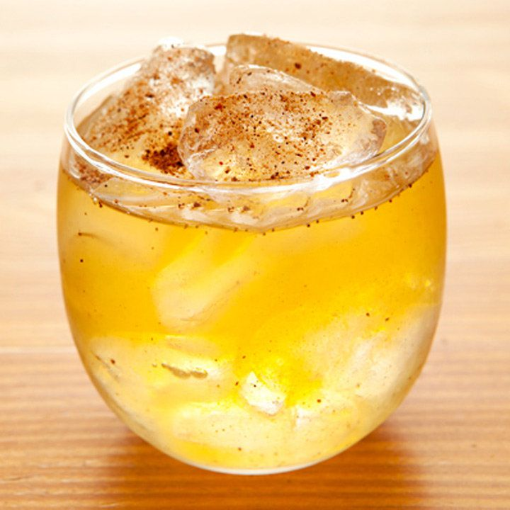 Rum-Brandy Punch cocktail