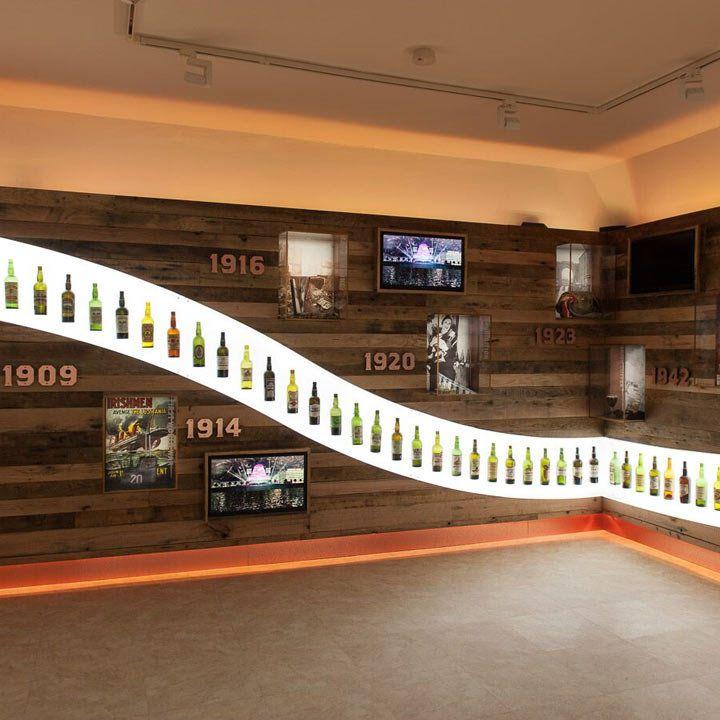 Irish Whiskey Museum interior