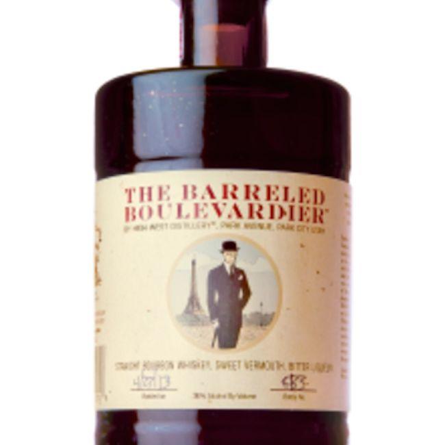 High West Ready-to-Drink Barreled Boulevardier