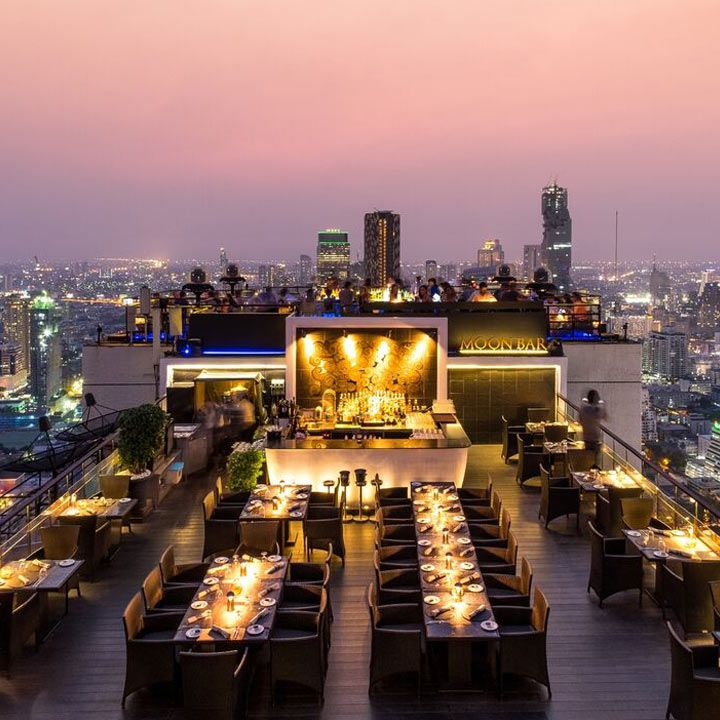 Moon Bar rooftop view
